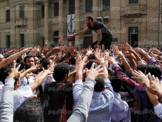 14 Cairo University pro-MB students released