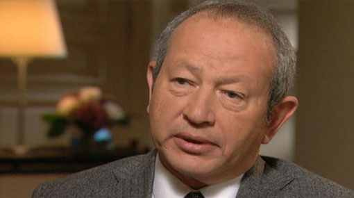 Sawiris thanks Interior Ministry for well-securing churches