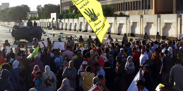 'Judges for Egypt' accused of collaborating with MB, joining Rabaa sit-in