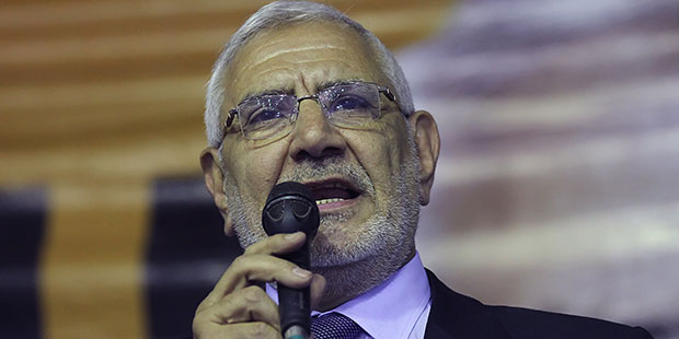 Aboul Fotouh files law suit to repeal expatriates voting in other poll stations