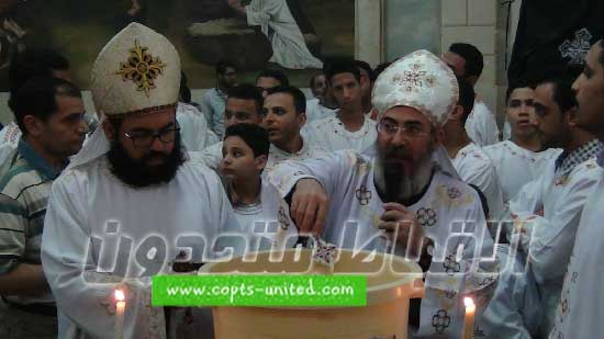 Copts celebrate Maundy Thursday and the new covenant of Christ