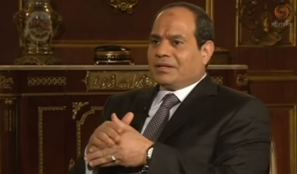 Egypt's Sisi hopes for better times ahead in presidential bid