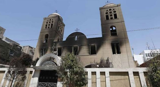 Fact-finding Committee: the MB burned 52 churches, demolished 20