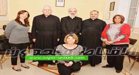 A delegation from the Catholic Church in Lebanon attends Coptic meeting in Minya