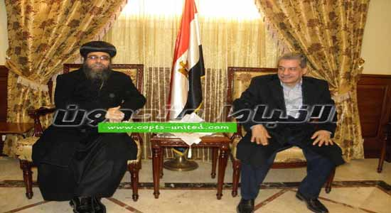 President of the Beni Suef University visits Coptic churches and monasteries