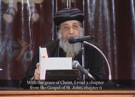 Pope Tawadros weekly sermon 01 Apr 2015: Are you satisfied with Christ!?