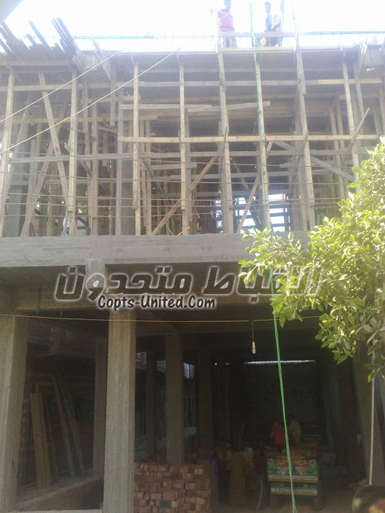 Construction of Virgin Mariam church started in Minya