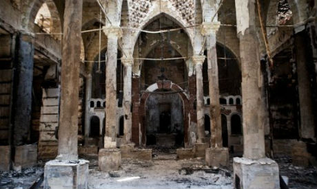 Egypt military restoring churches destroyed following Morsi's ouster