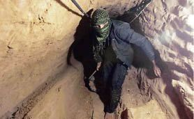 Military destroys tunnel used for smuggling in Rafah
