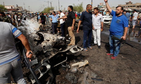 Under heavy pressure, IS group strikes back in Baghdad