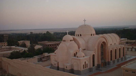 The first Austrian monk ordained at the Monastery of St. Bishoy in Egypt