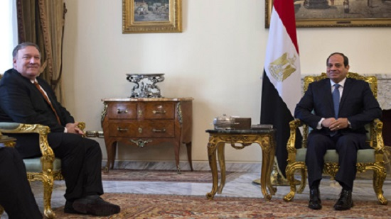US stands with Egypts efforts to protect religious freedoms, fight terrorism: Pompeo tells Sisi