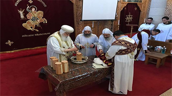 Copts of the Netherlands celebrate the feast of the Prince of Tawadros