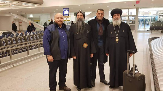 Bishop Makar travels to Canada in a pastoral care visit