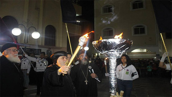 Bishop of Suhag handed out trophies of the Al-Keraza Carnival
