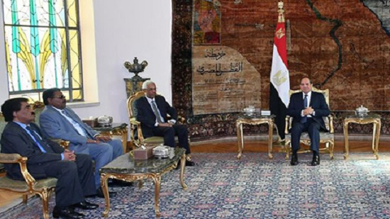 Egypts Sisi discusses bilateral relations with Sudans minister of defence and intelligence chief