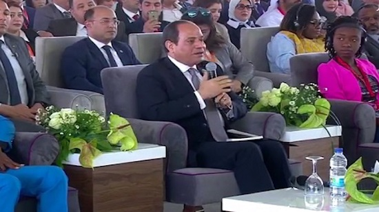 Egypts Sisi calls for integration between Arab and African nations at youth forum in Aswan