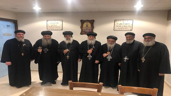 Bishops of Minya governorate hold a meeting