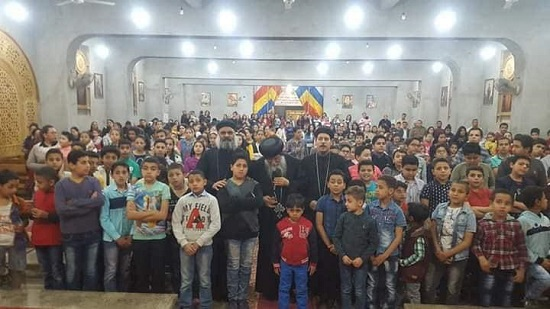 500 children celebrate midnight praise in Abu Qurqas