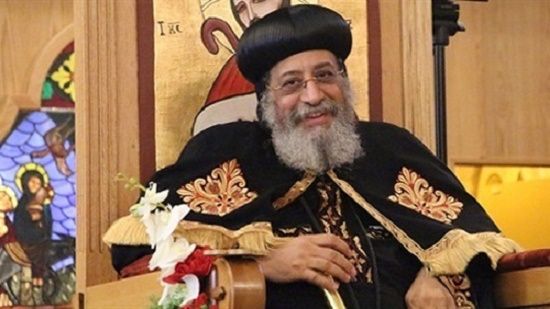 Pope Tawadros presides over the eve of the martyrdom of St. Mark