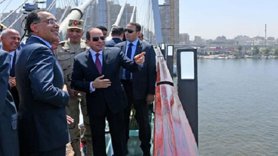 Egypts Sisi opens mega Rod El-Farag road, the worlds widest causeway
