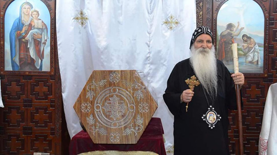 The relics of Saint Yassa Mikhail moved to a new shrine