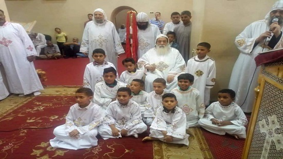 Bishop of Aswan ordains new deacons and inaugurates the holy vessels