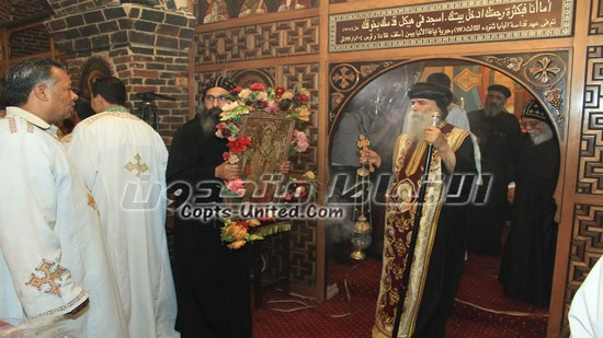 St. Besentaus celebration in Naqada attended by 3 bishops