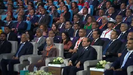 Sisi thanks Egyptian people for their efforts during Youth Conference opening ceremony