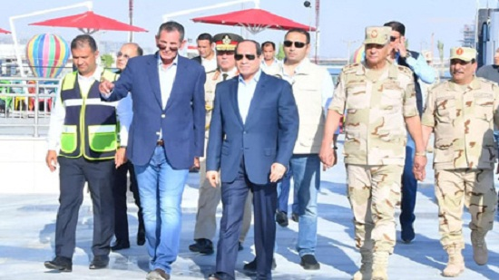 In Photos: Egypts Sisi inspects construction at Al-Masa resort in New Alamein City