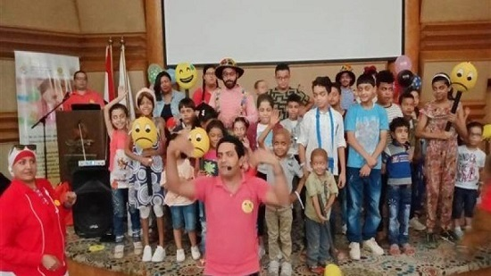 Joy team organizes entertainment shows for children of 57357 cancer hospital