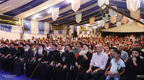 10 Thousands participants of different ages at 'In His Image'  festival