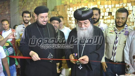 Bishop of Minya inaugurates a new church at Ezbet Shahin
