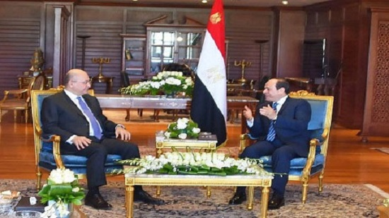 Egypts Sisi, Iraq president Saleh discuss Turkeys offensive against Syria