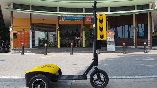 Self-driving scooters are coming to city sidewalks