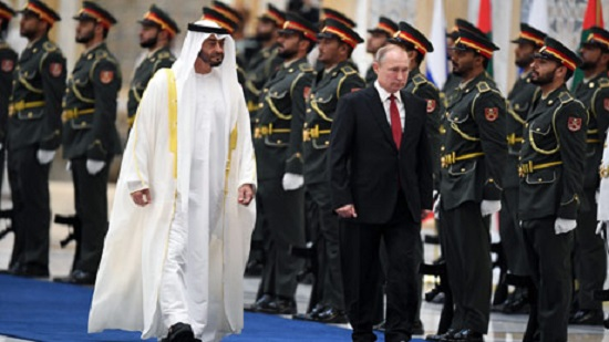 Russias Putin arrives in UAE on first visit since 2007