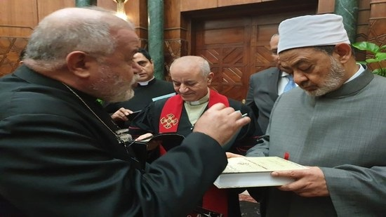 Egypt Council of Churches visits Imam Ahmed El Tayeb