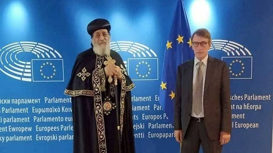 Pope Tawadros visits the European Parliament in Brussels