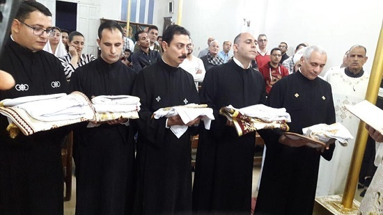 Five new priests ordained at the diocese of Sanbo and Dayrout