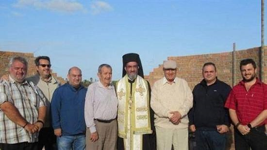 Archbishop of Greek Orthodox lays foundation stone for a church in South Africa