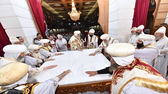 Pope inaugurates Cathedral of the Virgin and Joseph the Carpenter at Ezbet El Nakhl