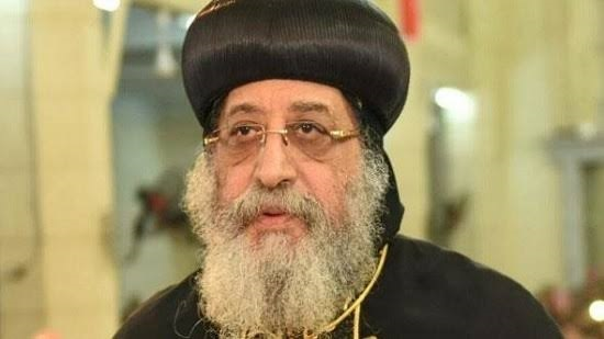 Pope Tawadros visits the Monastery of Anba Bishay in Sohag