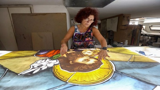 A life's work shattered: stained glass artist counts cost of Beirut blast