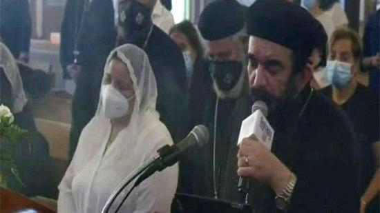 Coptic bishops offer condolences to Father Angelus at the departure of his son