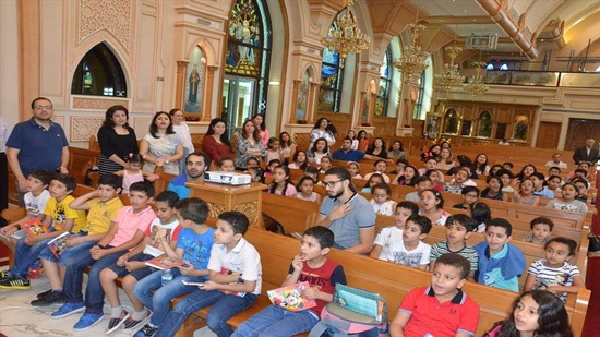Sunday schools return today in the churches of Alexandria