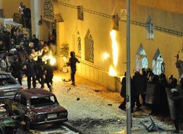 Egypt to ask British foreign ministry for info on Alex church bombing