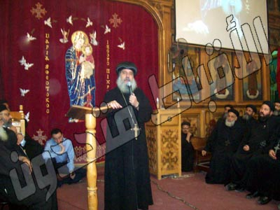 Bishop Gabriel: Copts to fast and pray for three days before papal elections