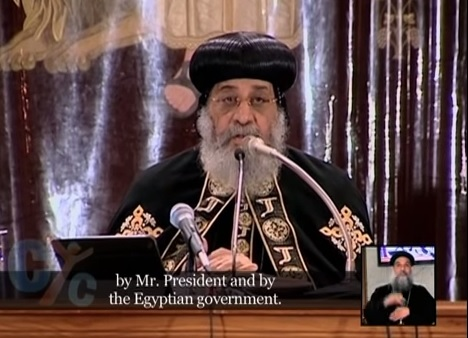 Pope Tawadros weekly sermon 18 Feb 2015 :Love your Enemies