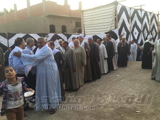 Love Egypt MPs in Beni Suef ignore the Church in their celebration