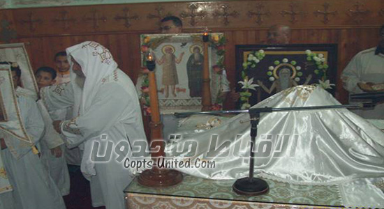 Copts celebrate the first hermit's feast on Tuesday